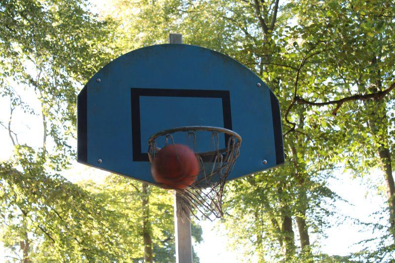Basketballkorb ... Treffer!!